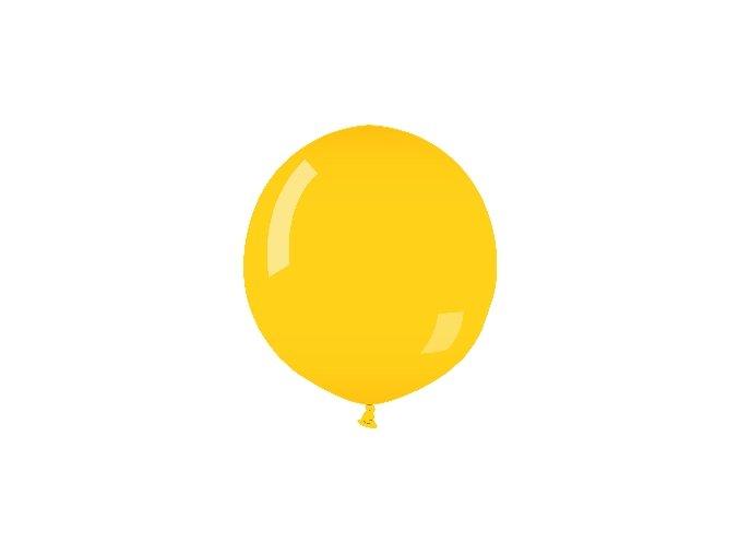 Jumbo balón latexový žltý 75Cm
