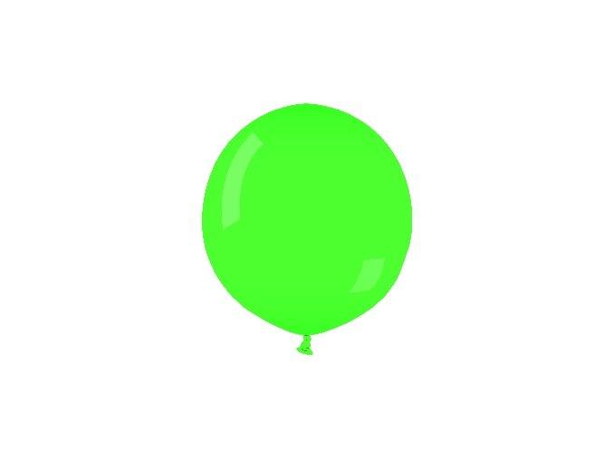 Jumbo balón latexový zelený 0,75m