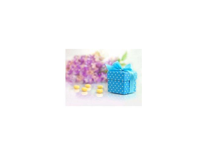 Krabička na drobnosti modrá 10ks v balení