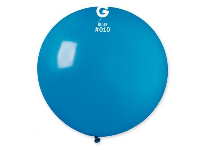 36 jumbo round latex balloon dark blue 4