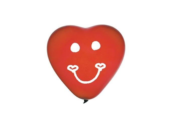 Latexové balóny Srdcia 25cm 3ks v balení