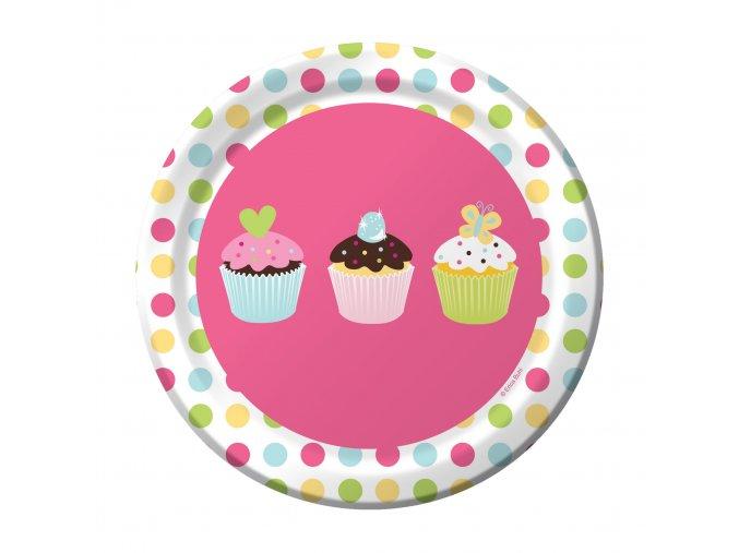 Tanier Sweet Treats party 8ks v balení, 18cm