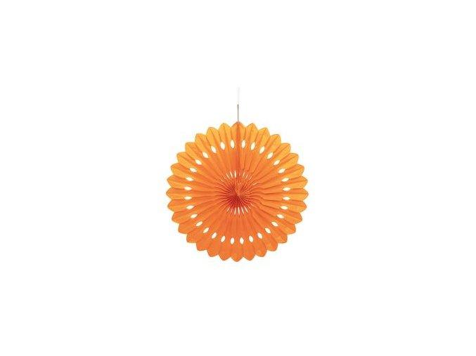 Visiaca rozetka oranžová 1ks