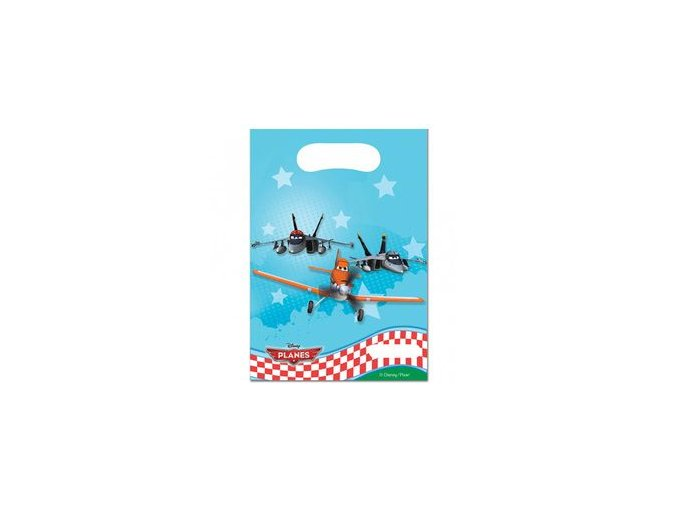 Taštičky Lietadlá 6ks v balení
