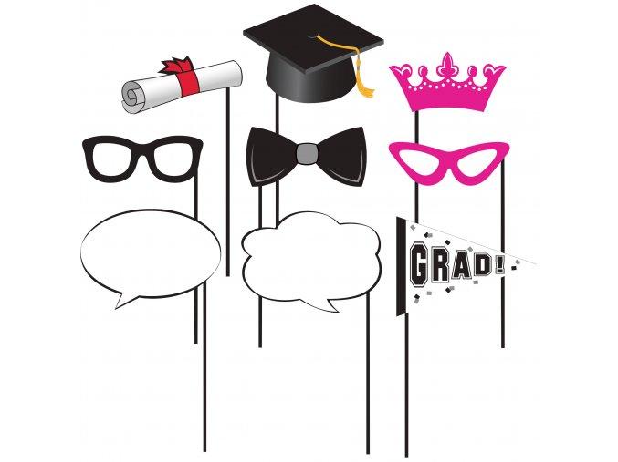 Rekvizity do fotokútika Graduate 10ks v balení