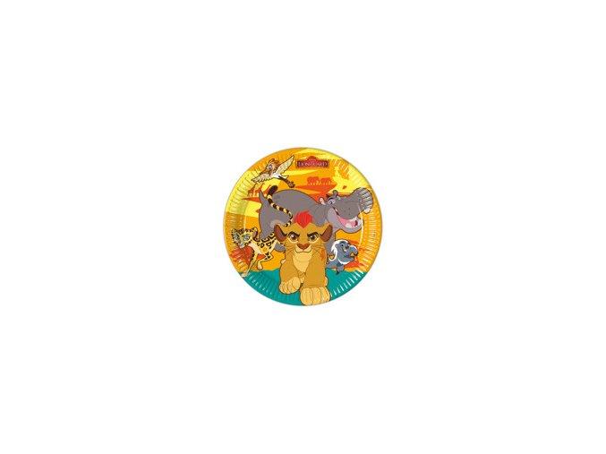 Tanier Leví kráľ party 23cm, 8ks v balení