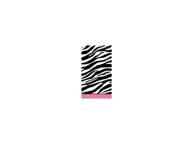 Obrus Zebra party 137x213cm