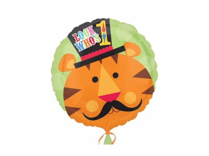 """Fóliový balón Happy Birthday """"1"""""""