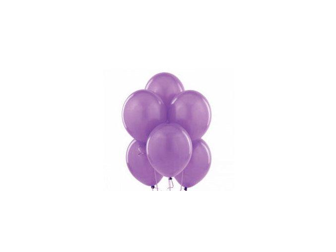"Latexový balón 12"" pastelovo levanduľová 1ks v balení"
