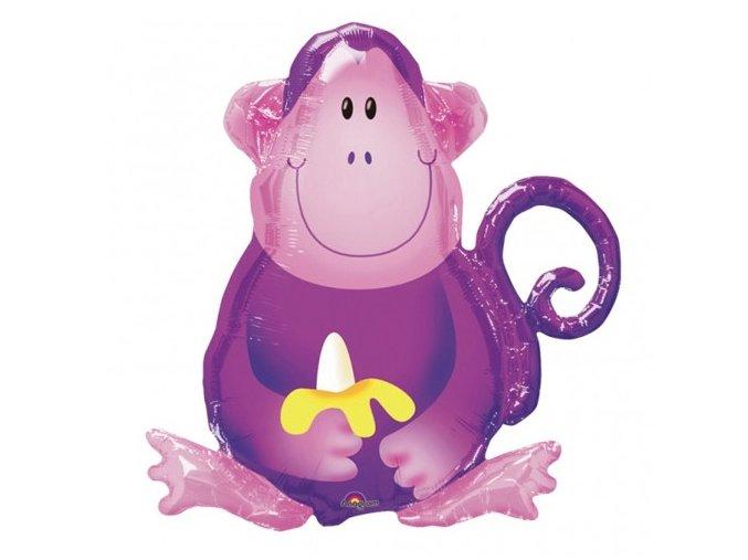 Fóliový balón Opička 66x70cm