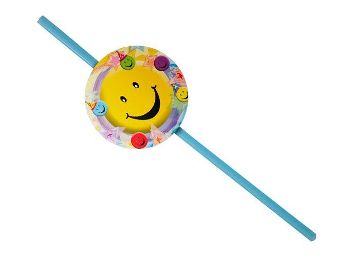 Slamky Smiley party 10ks v balení
