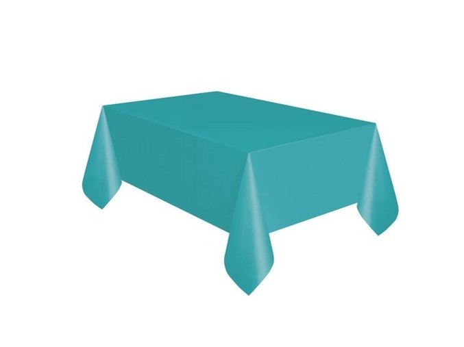 eng pm Caribbean Teal Tablecover 137 x 274 cm 1 pc 25678 1