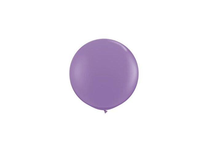 Jumbo balón latexový fialový 0,95m