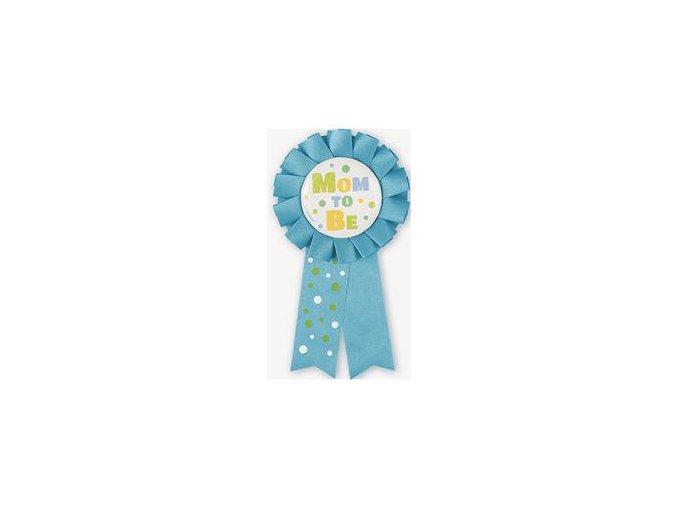 Odznak Mom To Be blue