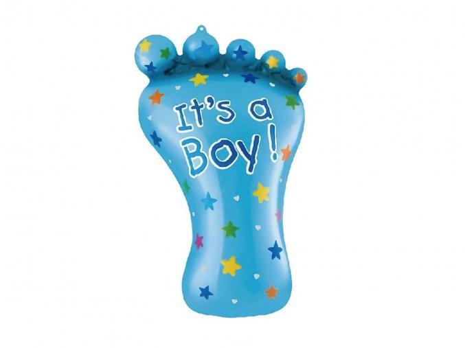 eng pl Baby Boy Foil Balloon 79 cm 53786 1