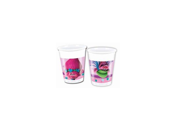 eng pm Trolls Paper Cups 200 ml 8 pcs 22981 1
