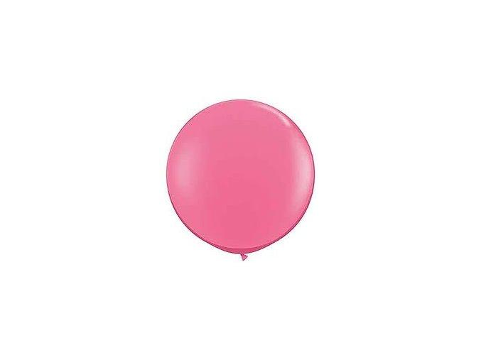 """Latexový balón 15"""" ružový 6ks v balení"""