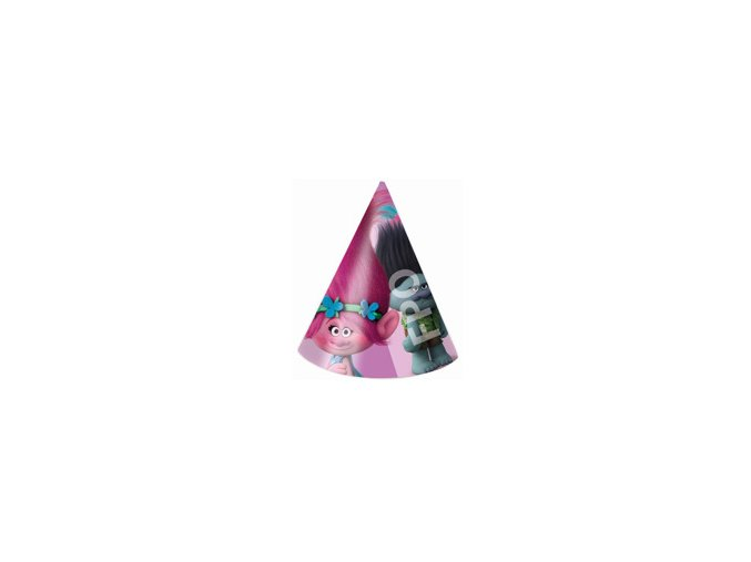 eng pm Trolls Party Hats 6 pcs 22986 2