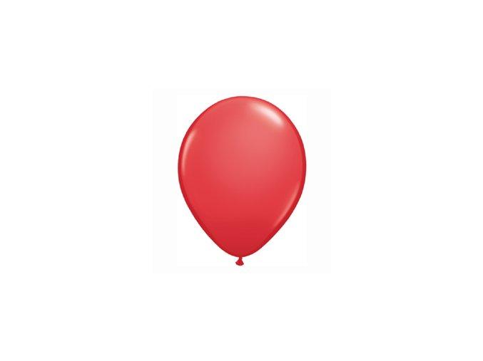 """Latexový balón 16"""" červený 1ks v balení"""