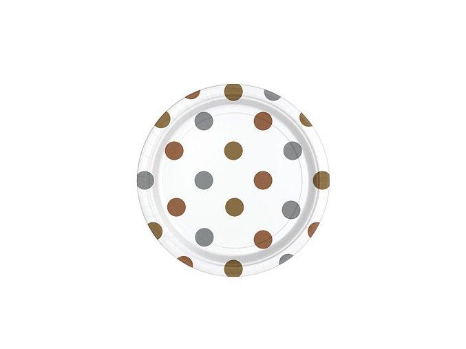 Metallic Dots Plates DCMEPLATD