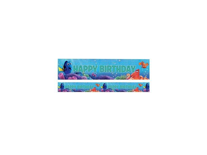Finding Dory Holographic Foil Banner FDORBANN