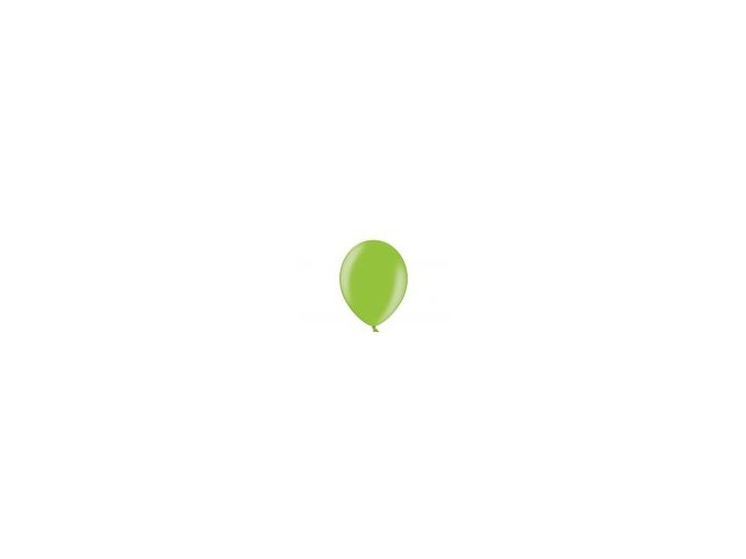 """Metalický balón 12"""" bright green 6ks v balení"""