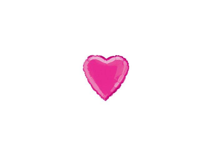 eng pm Hot Pink Heart Foil Balloon 47 cm 1 pc 1795 1