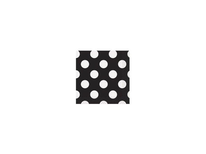 eng pm Black dots lunch napkins 25 cm 16 pcs 25270 2