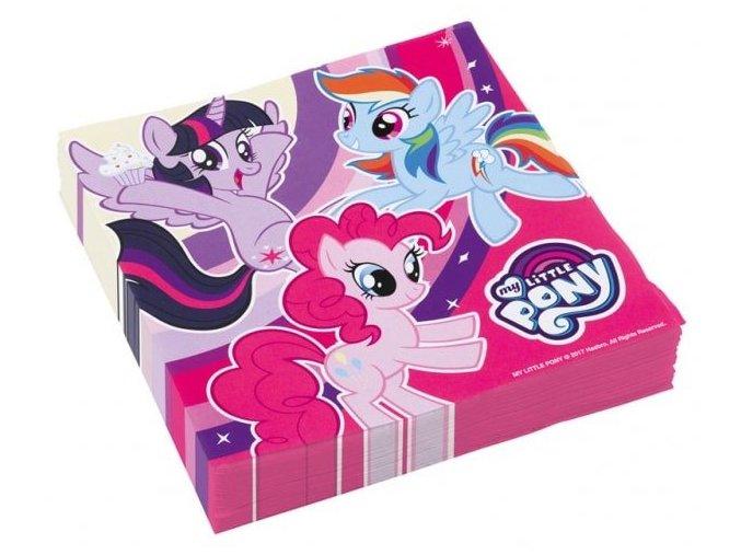 eng pl Lunch napkins My Little Pony 33 cm 20 pcs 30619 1