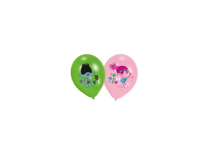 eng pm Trolls Balloons 6 pcs 25338 1