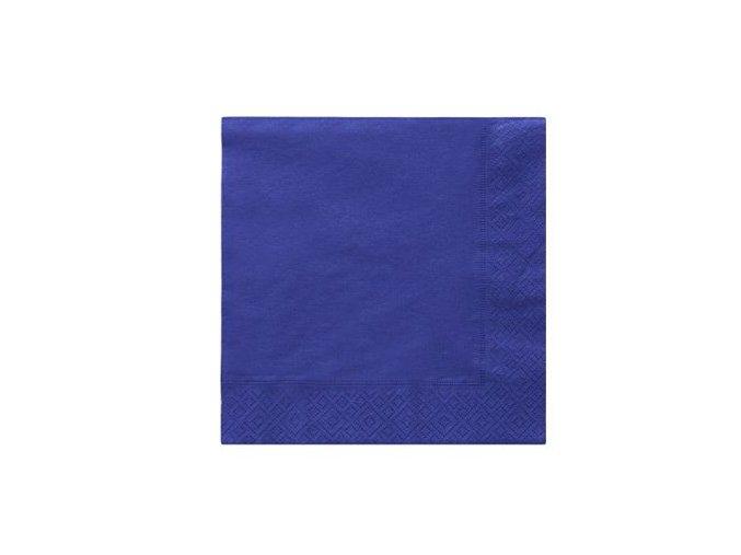 Servitky tmavofialové 33x33cmcm 20ks v balení