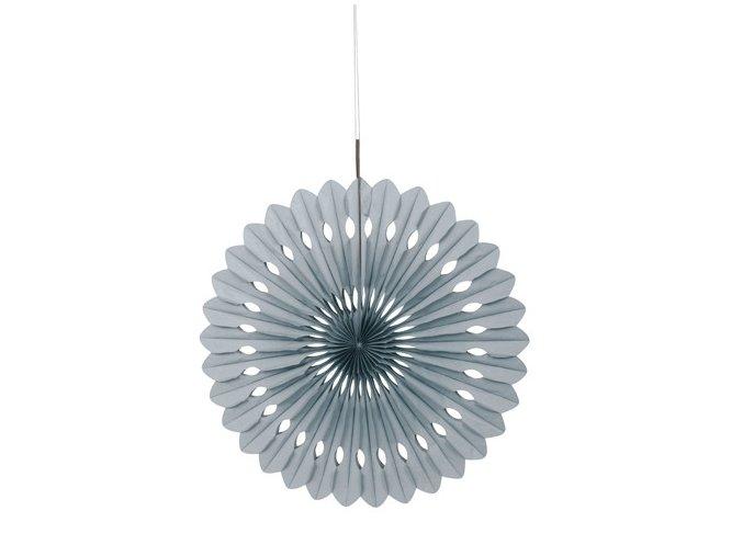 eng pl Decorative fan silver 1 pc 23797 1