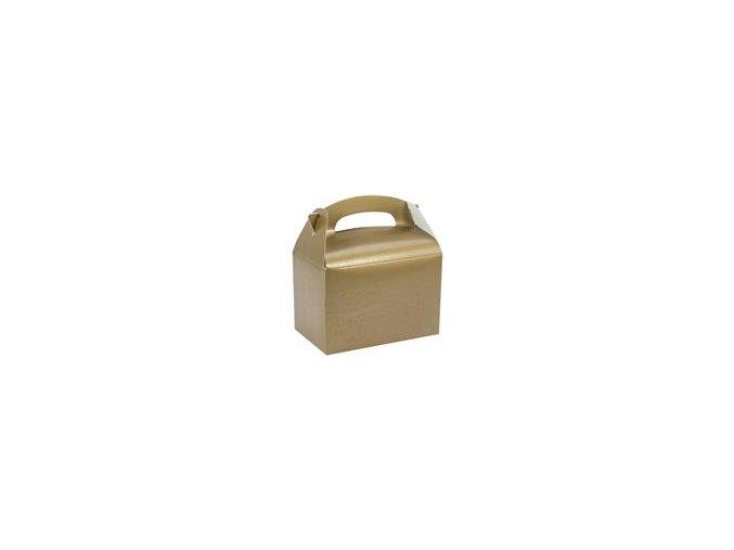 Krabička na drobnosti Gold