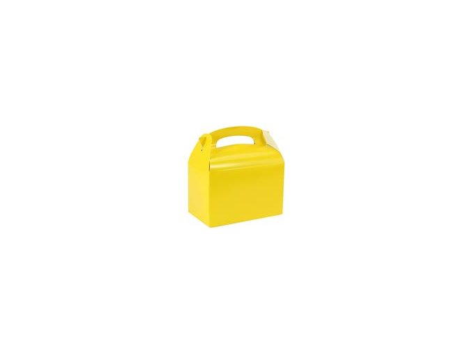Krabička na drobnosti žlta