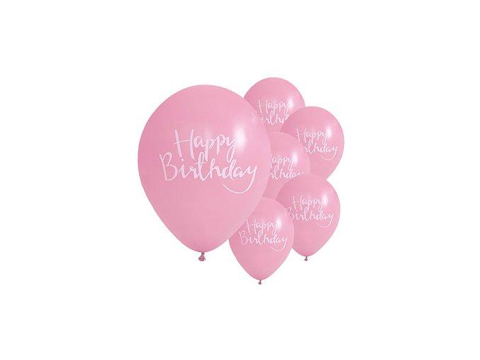 Pick Mix Pink Happy Birthday PMIXBALL2