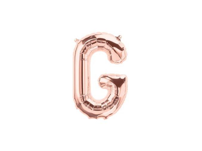 Rose Gold Letter G Balloon FOIL2732 v2