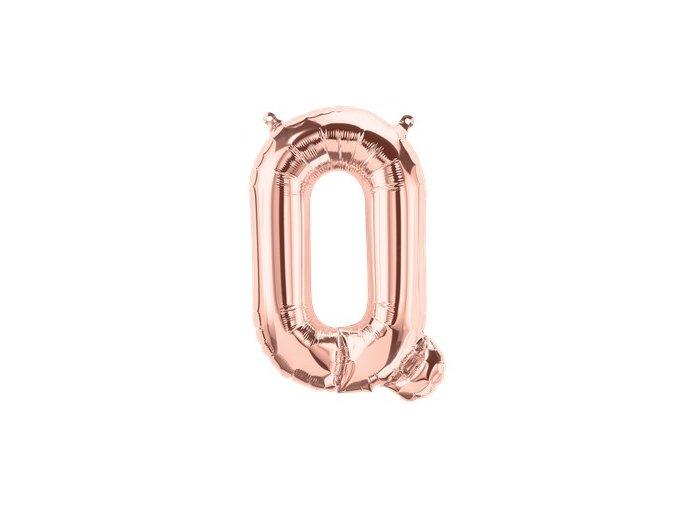 Rose Gold Letter Q Balloon FOIL2742 v1