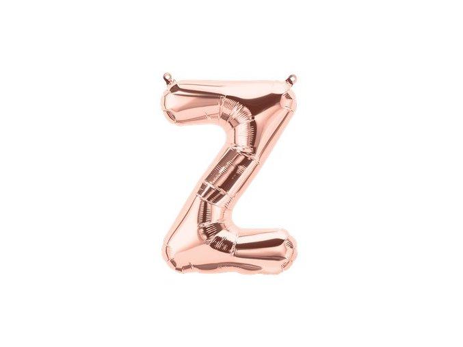 Rose Gold Letter Z Balloon FOIL2751 v1