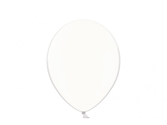"""Latexový balón 14"""" bezfarebný 6ks v balení"""