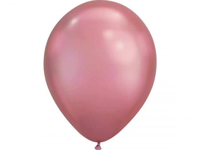 balon ql 11 chrom pudrowy roz 25 szt