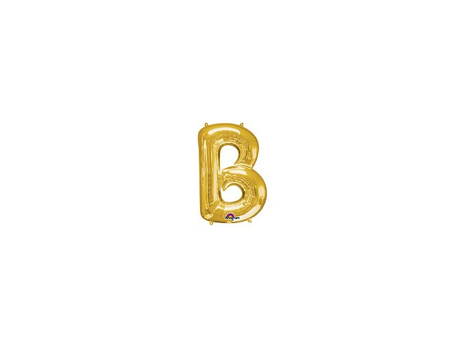 Gold Letter B Balloon Foil FOIL2369 th2