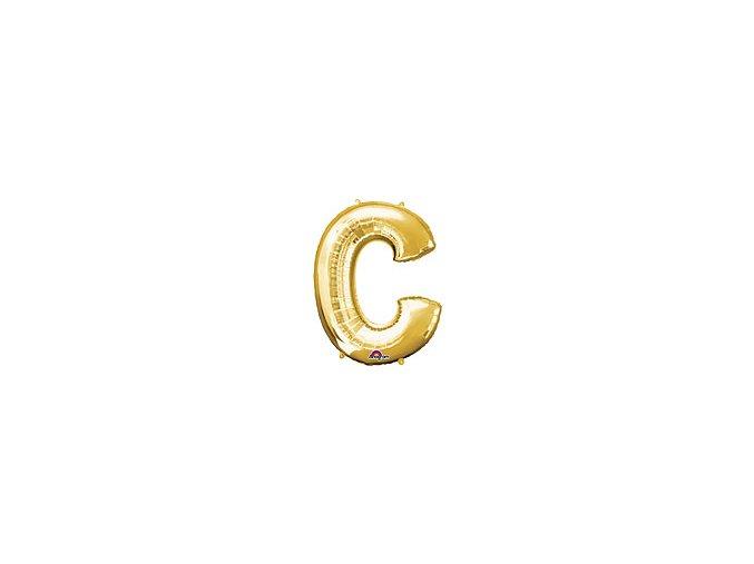 Gold Letter C Balloon Foil FOIL2370 th2