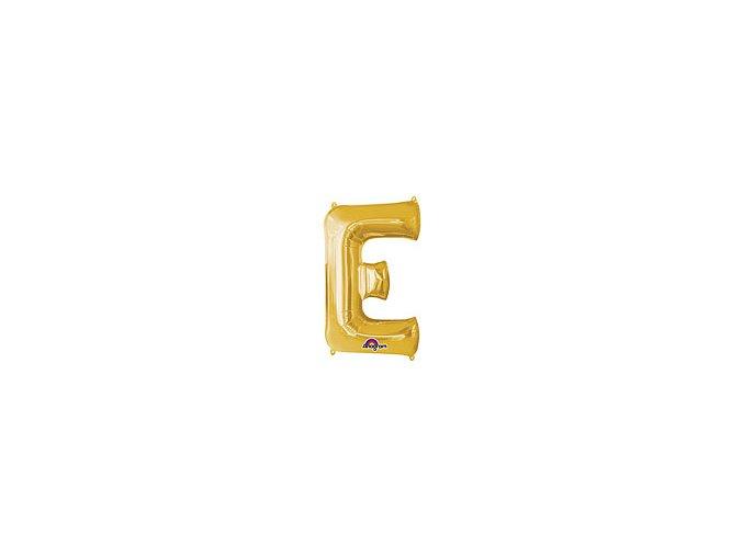 Gold Letter E Balloon Foil FOIL2372 th2