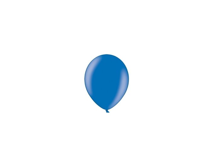 "Metalický balón 14"" modrý 1ks v balení"