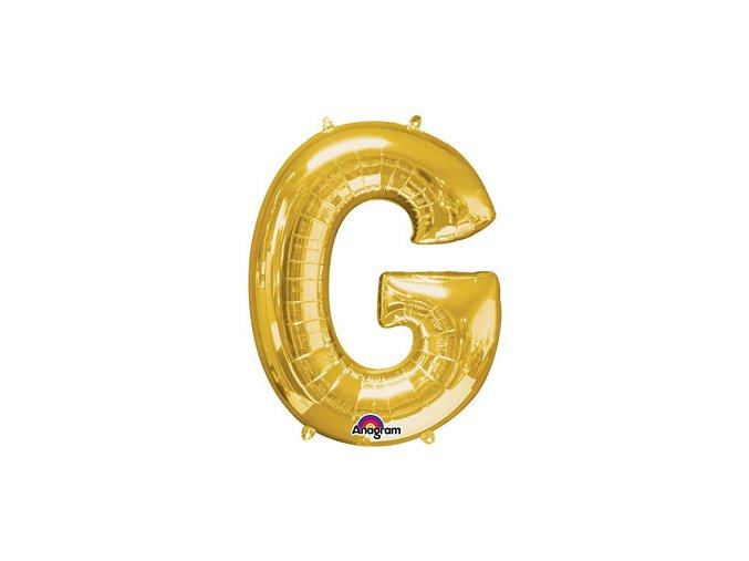 Gold Letter G Balloon Foil FOIL2374