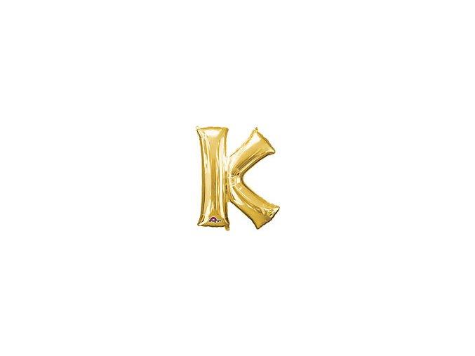 Gold Letter K Balloon Foil FOIL2378 th2