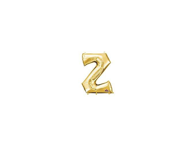 Gold Letter Z Balloon Foil FOIL2393 th2