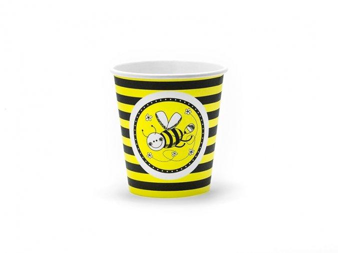 Pohár Včielka 6ks v balení