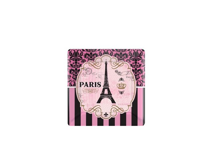 A Day in Paris Square Plate DIPAPLAT2 v1
