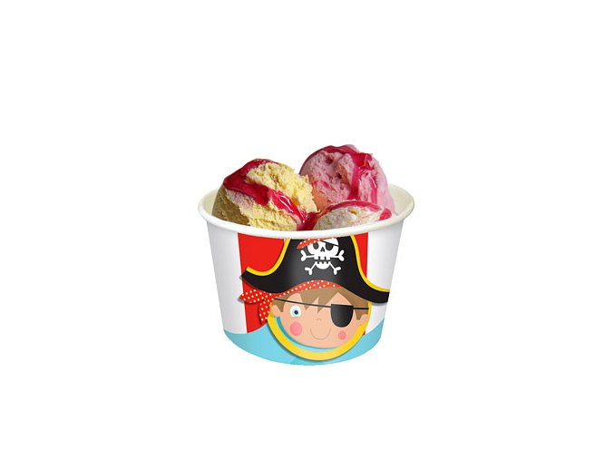 Little Pirate Ice Cream Tubs LPIRTUBS